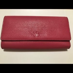New Pink Coach Wallet